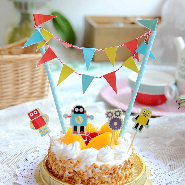 Usd 698 Birthday Party Creative Cake Flag Dress Dessert Table