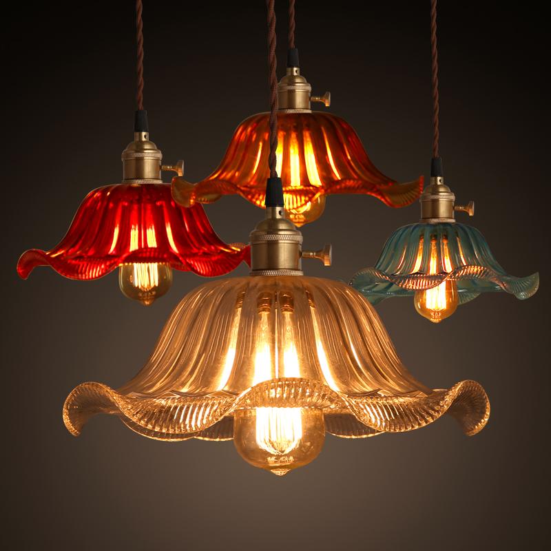 工业风格美式乡村吊灯吧台餐厅灯罩仓库鸟笼单头锅盖铁艺复古怀旧
