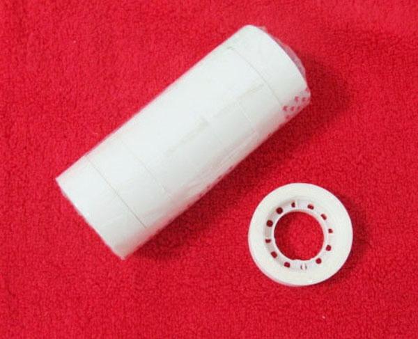茗炭 婚车隐形胶带 双面胶 透明胶 白色胶带 包装胶带 胶点