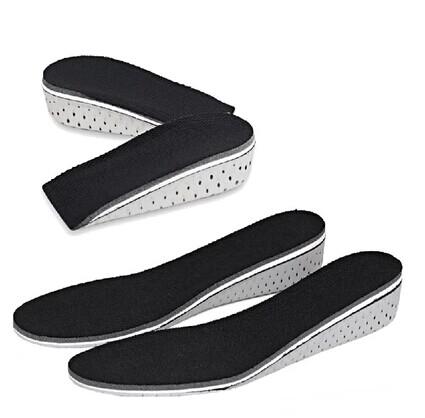 富尼登正品内增高鞋垫女式男式舒适硅胶增高垫 半垫2/3/4CM