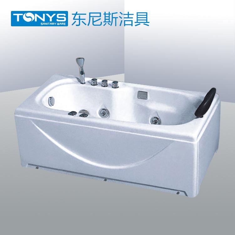 厂家热销亚克力保温浴缸 双层加厚浴缸 独立式浴缸 1米4 1米5