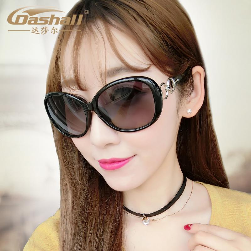 女士太阳镜防紫外线墨镜时尚镂空太阳镜气质墨镜女潮圆脸墨镜