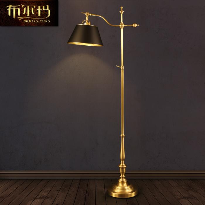 欧式复古怀旧别墅客厅沙发茶几落地灯高档玻璃美式书房卧室装饰灯