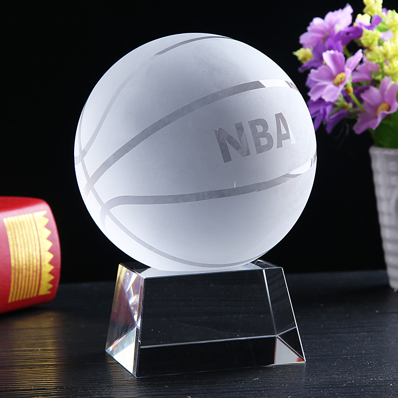 Crystal Basketball Birthday Gift Boys Friends Husband New Year To Her Boyfriends Practical Creative Personality Special