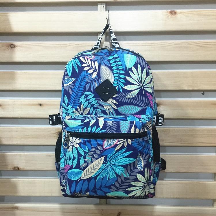 厂家热销新款韩版时尚个性枫叶双肩背包潮帆布男女通用学生旅游包