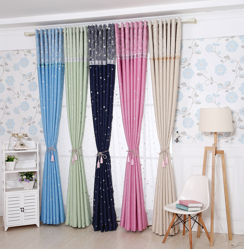 Living Room Curtain Fabric Sgd2575 Aysan Pastoral Order Curtain Shade Little Thickening