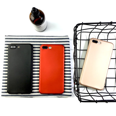 New OPPOR9 Mobile Shell oppoR9S Anti-drop silicone Red OPPOR9plus All-inclusive Soft shell