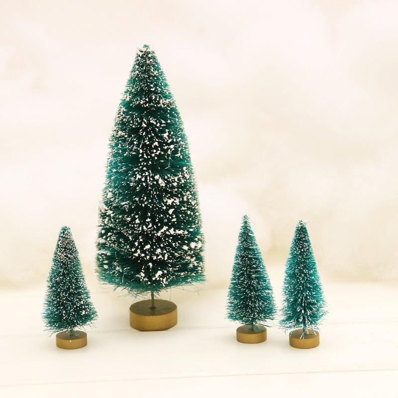 圣诞节60厘米圣诞树小型圣诞礼物小松树小摆设小圣诞树道具礼品