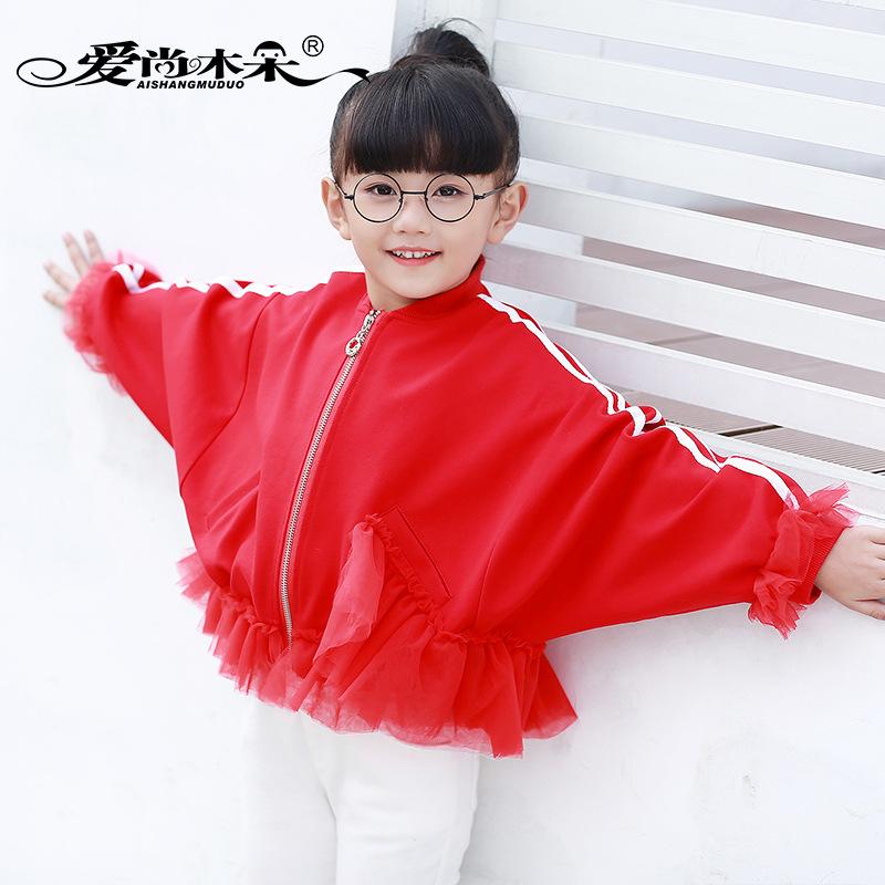 2017春季新款女装韩版立领短款修身机车蕾丝夹克百搭显瘦小外套潮