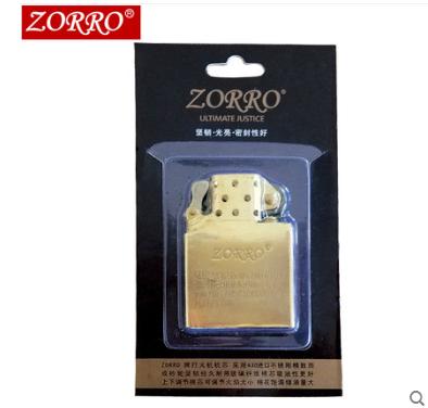 Гонконг оригинал zorro зорро уголь масло зажигалка специальный монтаж оригинал медь вкладыш ветролом творческий подлинный