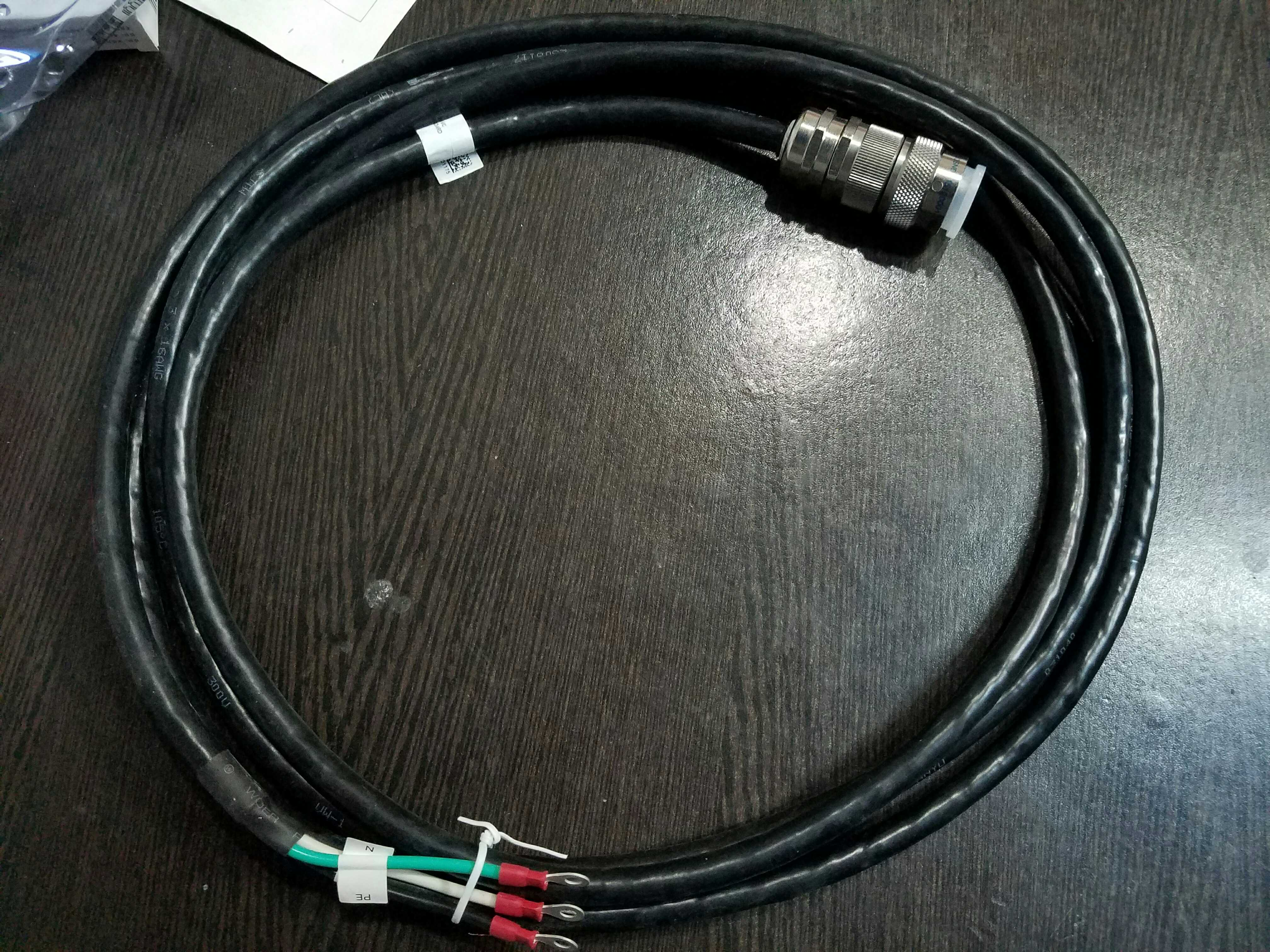 Usd 2982 Zte Rru Ac Power Cord Connector 3 Hole Wiring Plug Lightbox Moreview