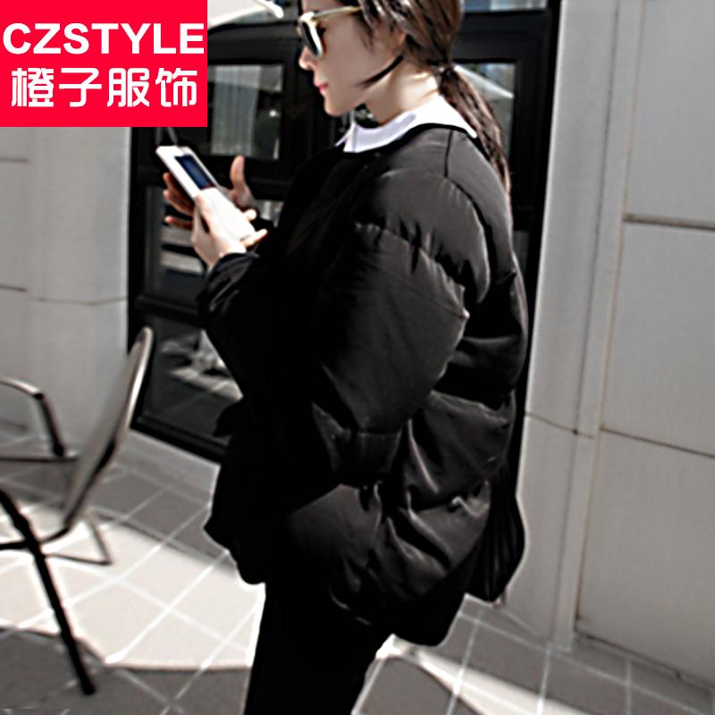2015女装新品冬天韩版修身时尚休闲百搭短款夹克棉衣羽绒服女潮