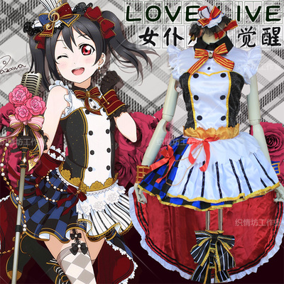 taobao agent cosplay Japanese anime costume Love Live! September SR maid awakening playing song suit LL Nicole Nico