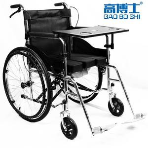 老人带坐便残疾人多功能便携代步车