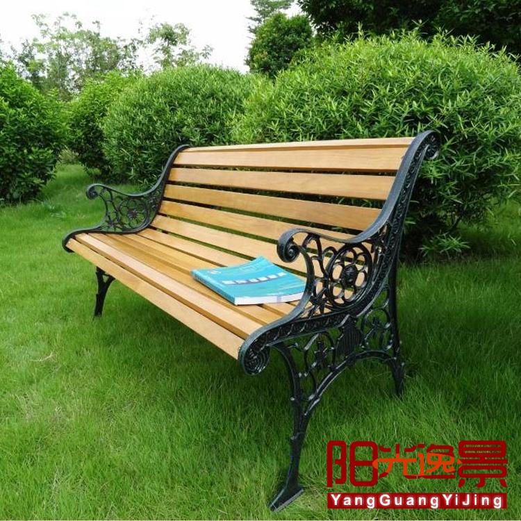 单人桌椅子组合户外防腐实木花园家具阳台桌椅休闲三件套车轮座椅