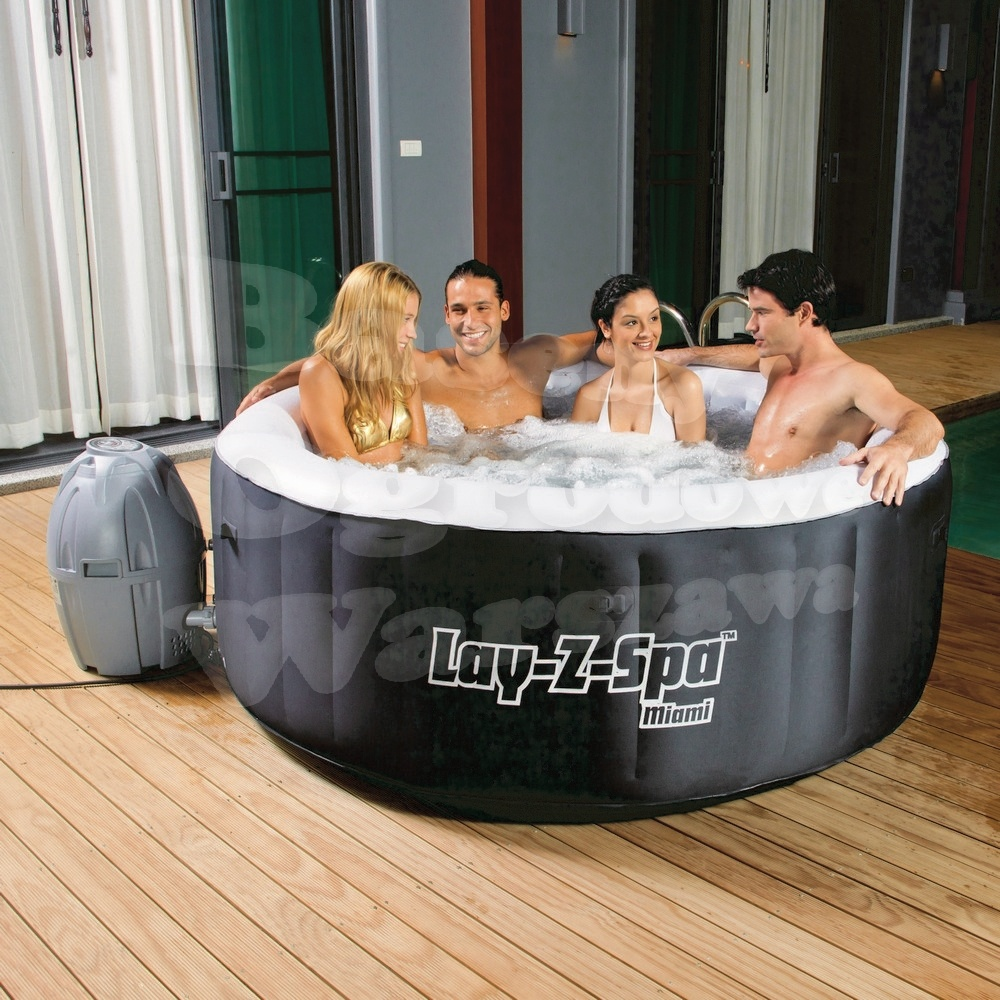 USD 910.18] SPA round surf tub multi-person inflatable Jacuzzi pool ...