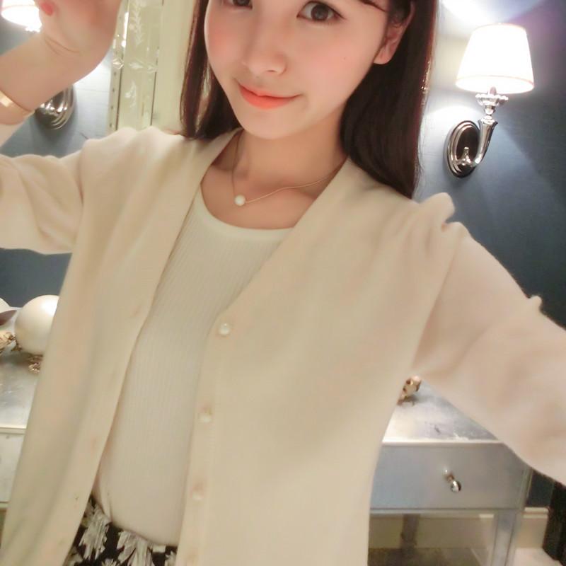 针织衫女开衫薄外套2016秋装新款韩版短款毛衣长袖外搭小披肩