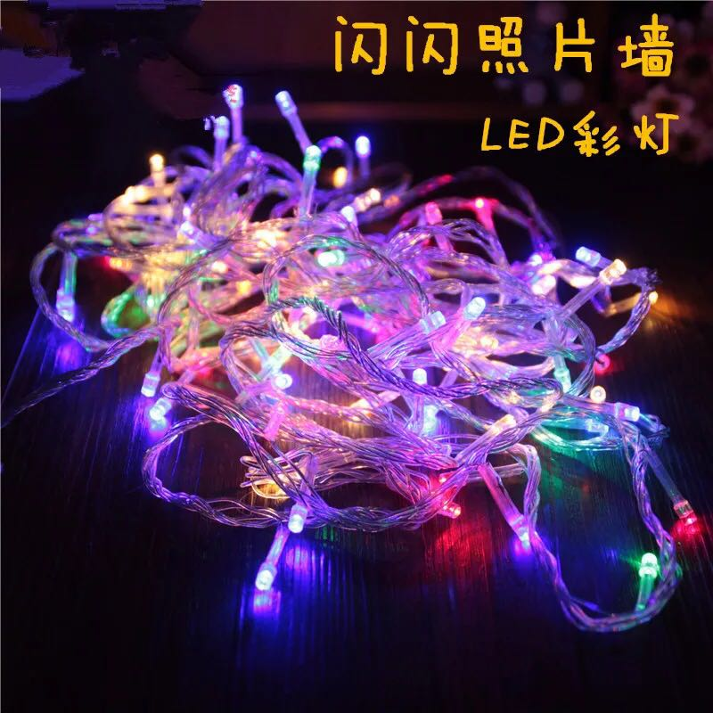 light festival lights string led decorative lights string new years day spring festival supplies outdoor decorative