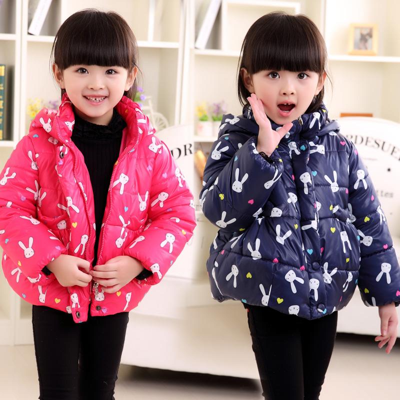 童装2015春装新款女童棉服时尚棉袄儿童棉衣保暖外套短款 秋冬 潮
