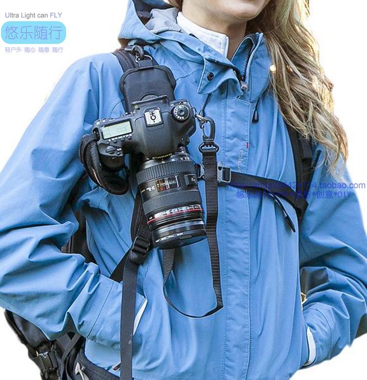 Сумка для фотоаппарата Зеркальные микро однофазный автомат быстрый стрелок рюкзак быстро висит при пониженном давлении висит пряжки открытый рюкзак камеры крепление пряжки