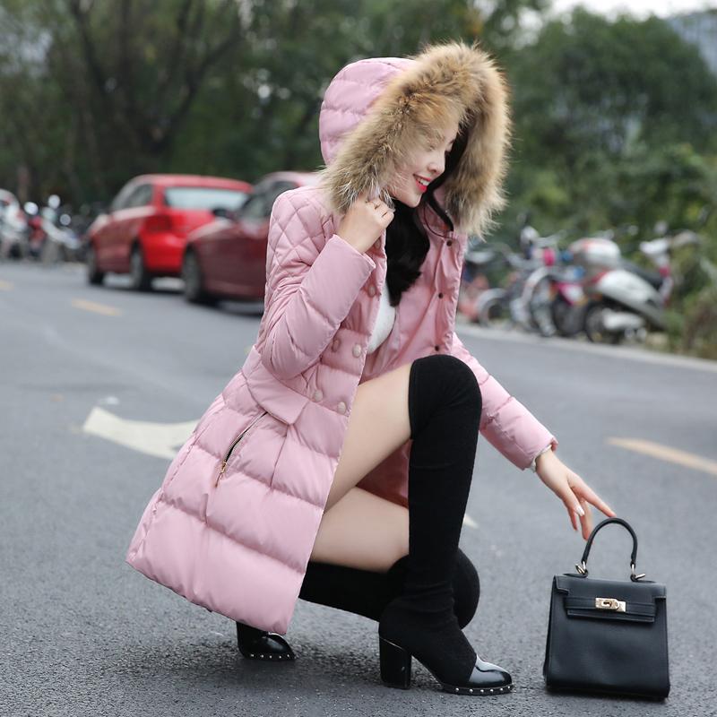 CCDD专柜正品2015冬装时尚女外套14-4-Y231中长款羽绒服4Y231
