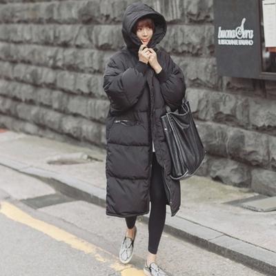 长款棉服女2015冬季新款女装棉袄韩版修身过膝女士棉衣冬装外套潮