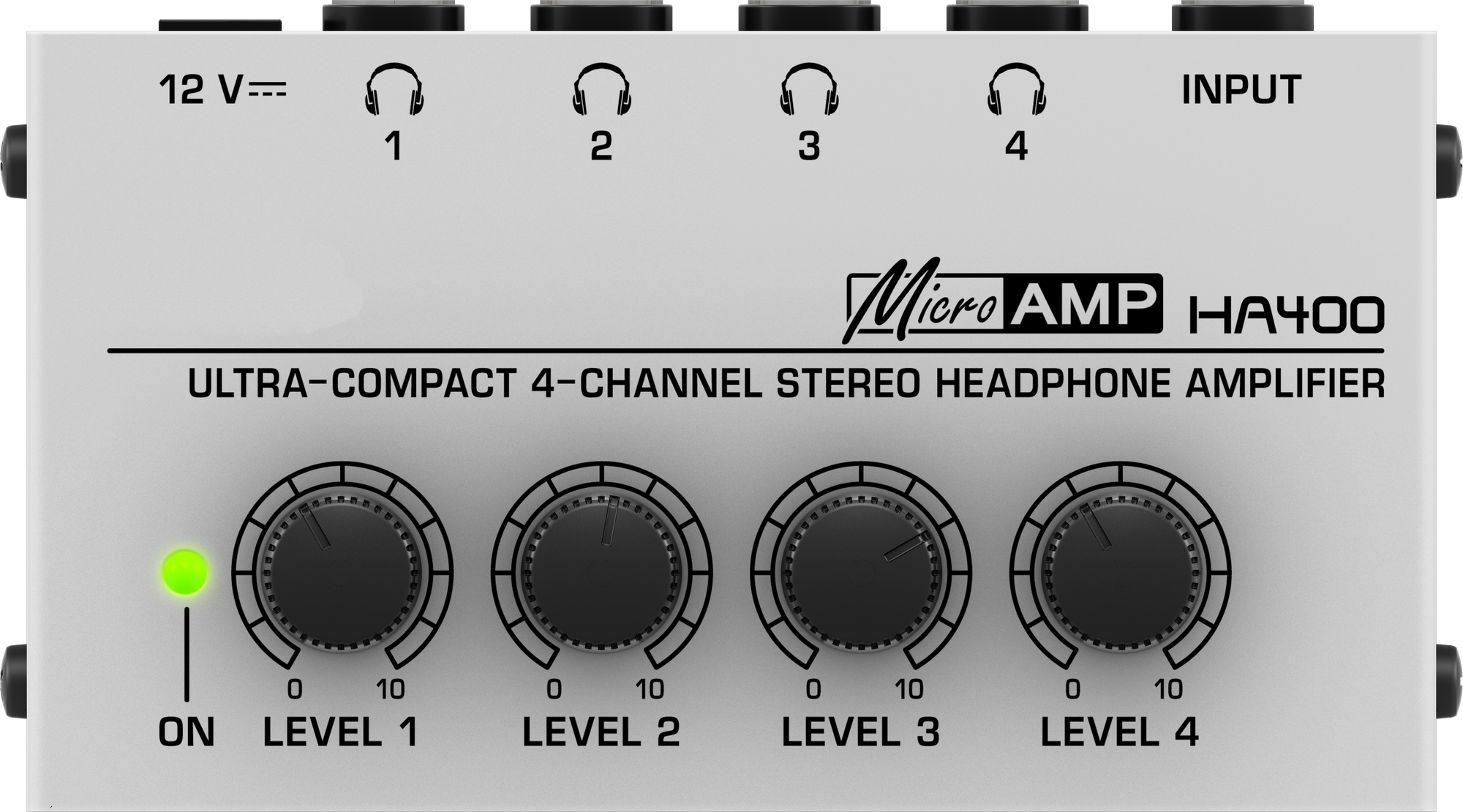 HA400 4-way headphone splitter headphone amplifier four-way amp headphone  audio signal splitter