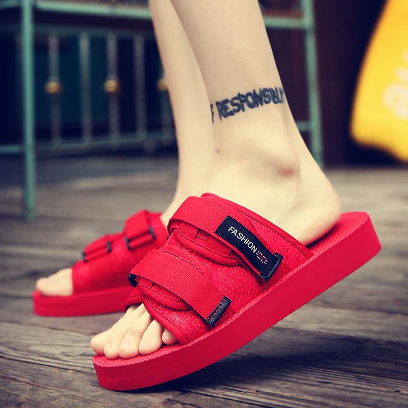 夏季拖鞋男精神社会小伙凉鞋沙滩鞋韩版人字拖鞋快手红人同款男鞋