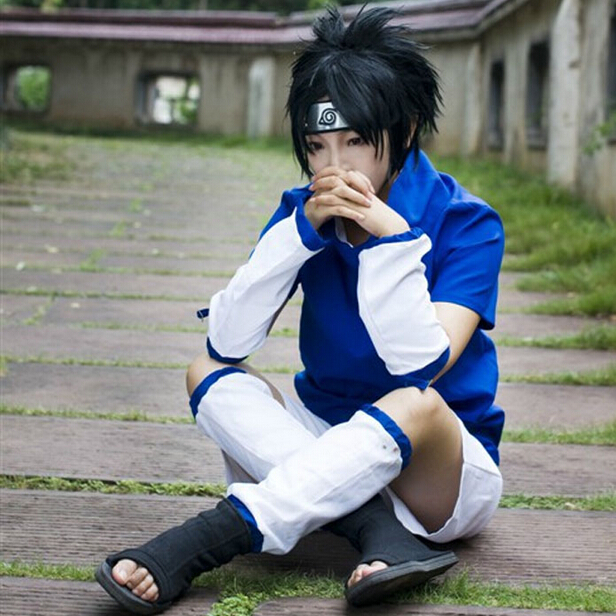 Usd 8 07 Naruto Uchiha Sasuke Cosplay Costume Generation Clothes