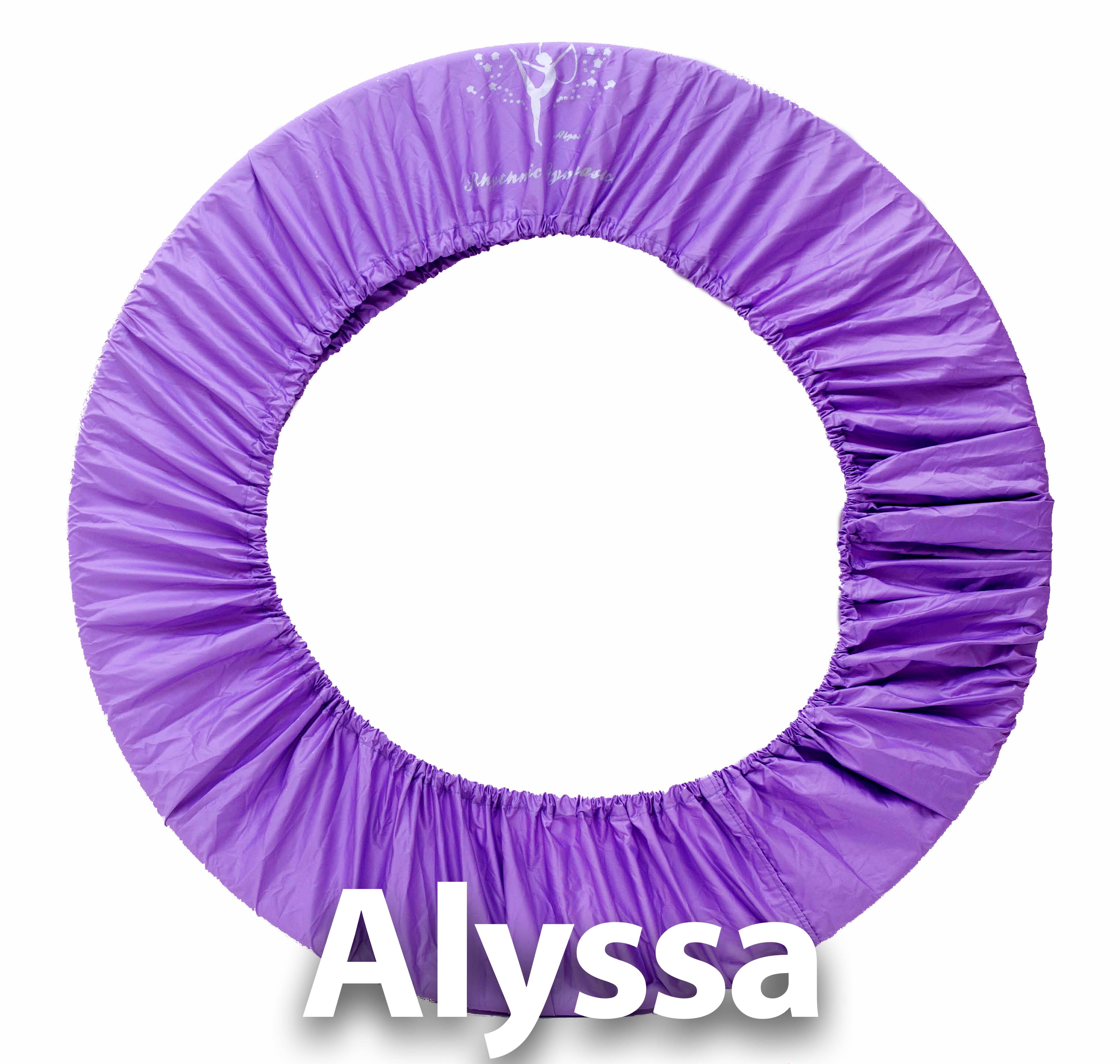 Alyssa искусство гимнастика круг защитный кожух - светло-фиолетовый цвет ( размер 60-90cm)* новый *