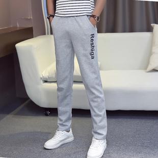 男款宽松直筒卫裤男士休闲运动裤