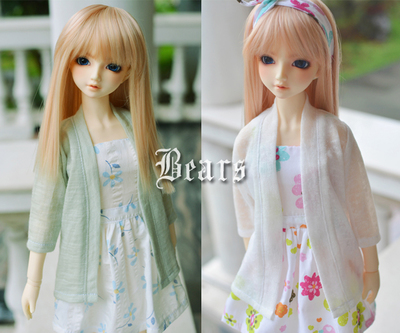 taobao agent ◆Bears◆BJD baby clothes A088 Mori style outer sleeve cardigan~2 colors 1/4&1/3&Uncle