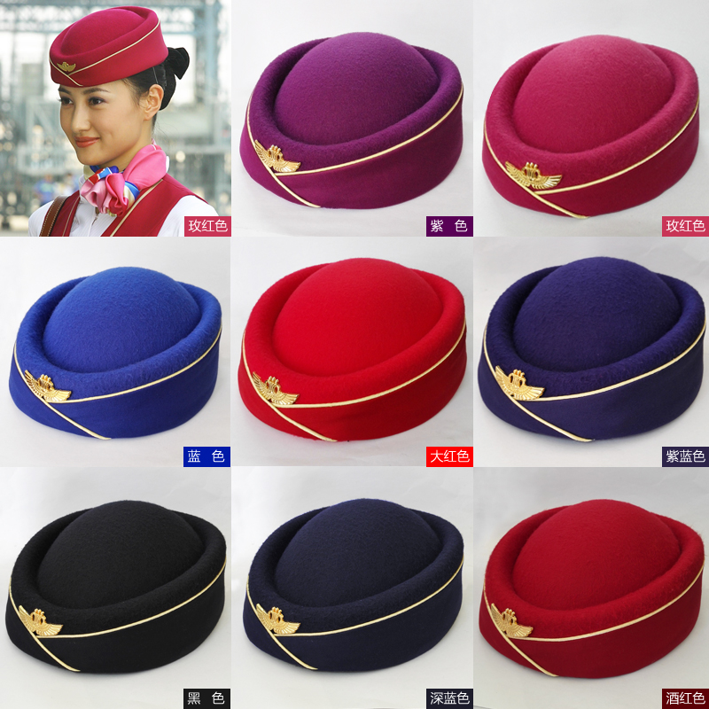 7fb0243308f ... stewardess hat student snare Team Cap band performance cap. Zoom ·  lightbox moreview · lightbox moreview ...