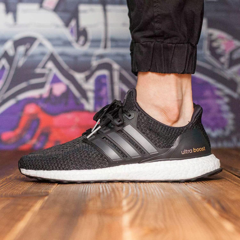 正品男鞋2016冬季boost运动鞋 阿迪达斯缓震透气跑步鞋 AF 6546