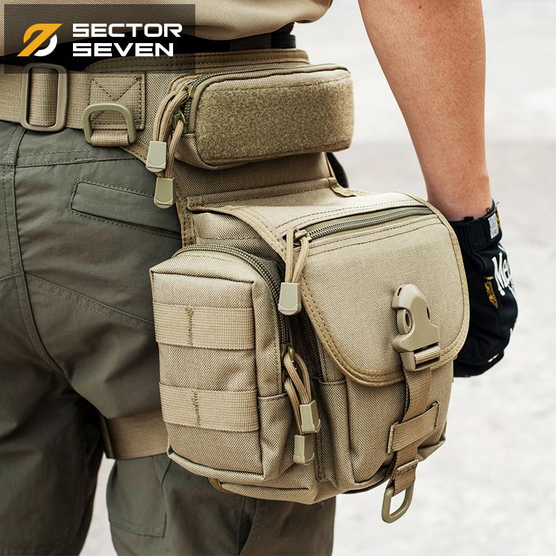 Статья 7 площадь на открытом воздухе тактический нога пакет многофункциональный мужчина талия армия фанатов оборудование специальный тип солдаты нога вешать верховая езда toolkit