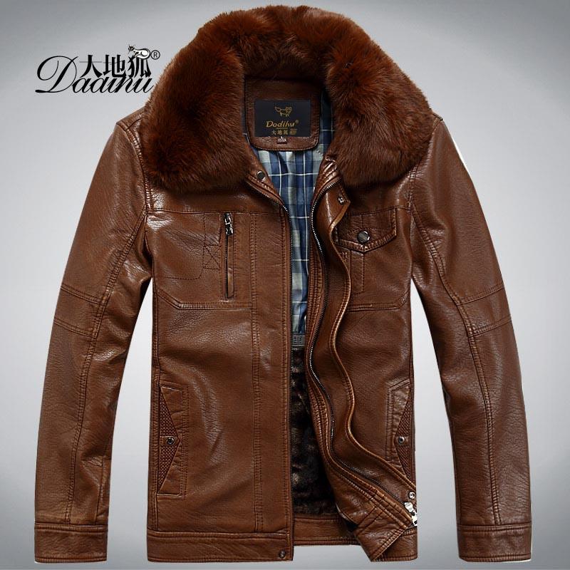 七匹狼皮衣男士海宁真皮秋冬装短款羽绒服夹克外套绵羊皮中年毛领