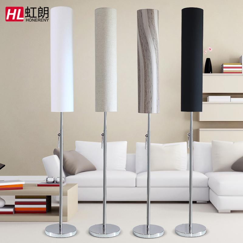 Honglang floor lamp living room simple modern floor lamp bedroom creative  floor lamp vertical Nordic LED lamps