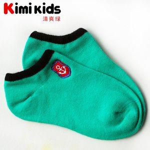 春夏季隐形儿童袜子糖果色浅口棉无骨男女童短袜运动透气宝宝船袜