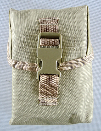 U S ARMY MOLLE II IFAK individual First Aid Kit Medical Kit (Sand color  replica)