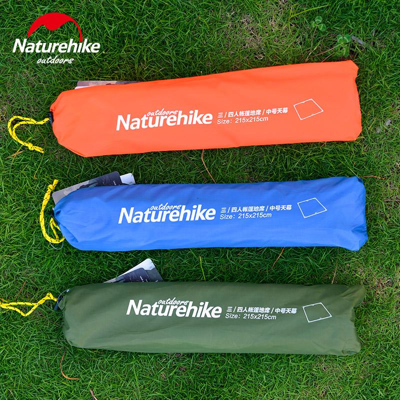 NH 3-4 люди палатки коврики ткань уплотнённая ткань оксфорд водонепроницаемый пригодный для носки на открытом воздухе влага кемпинг коврики