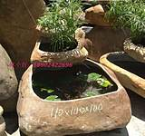 Outdoor natural stone pebbles pond aquarium fish tank planted tank water features landscape garden stone flower pot