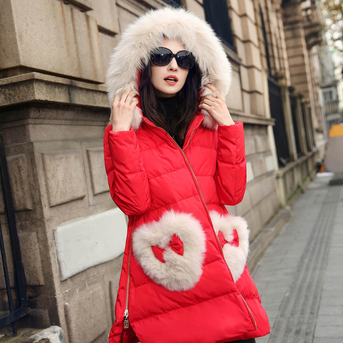 特价2014新款韩版加厚冬装修身外套轻薄羽绒服女短款超大码女装潮