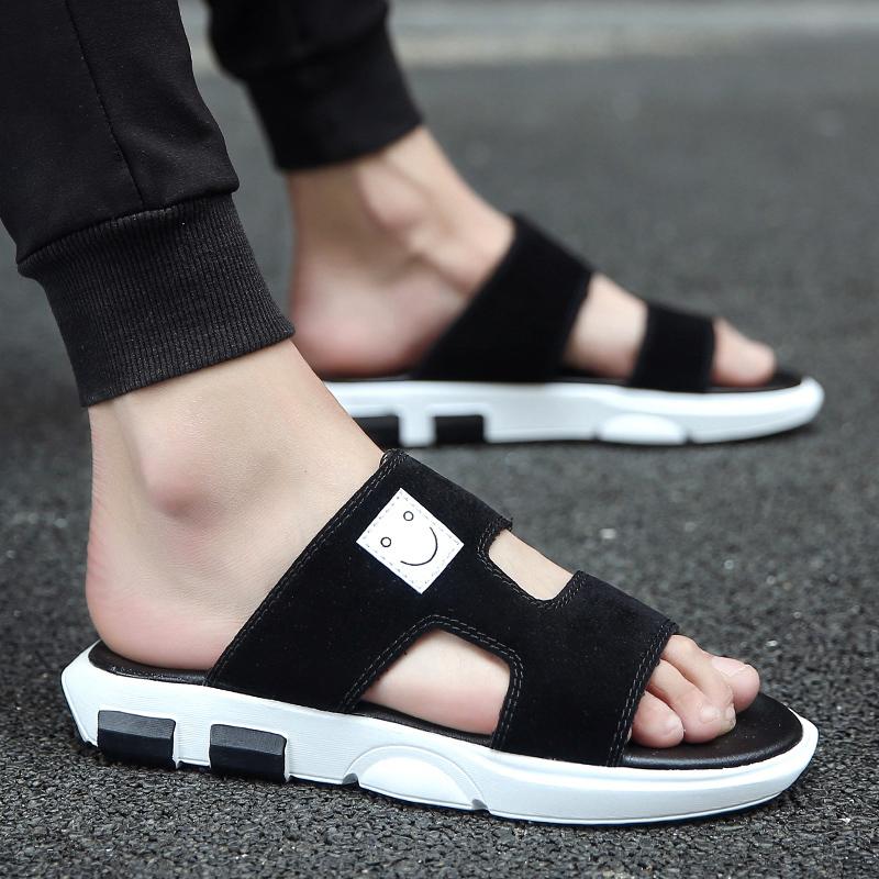 2016夏季新款拖鞋男快手红人同款鞋子精神社会小伙人字拖鞋凉鞋子