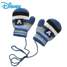 迪士尼 冬加绒加厚魔术儿童手套