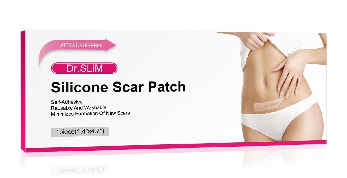 现货澳洲DR.SLIM修复疤痕贴淡化增生修复痕印划伤抓伤剖腹产疤痕