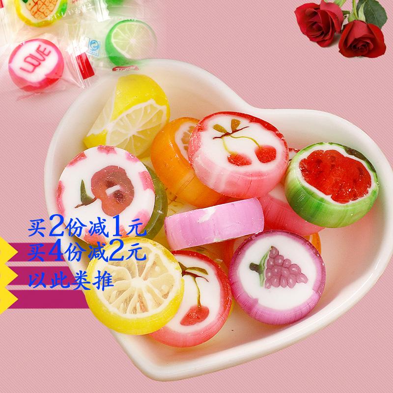 【单支批发】爱伊佳6g韩式手工切花水果切片喜糖水果棒棒帖批发
