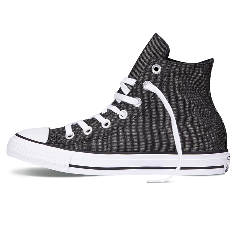 35140224d09 Converse women s shoes 2018 spring new High-Top Solid Color fashion classic  lightweight breathable canvas shoes 555818