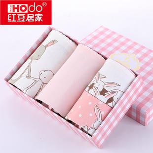 【红豆居家】女童纯棉内裤3条盒装