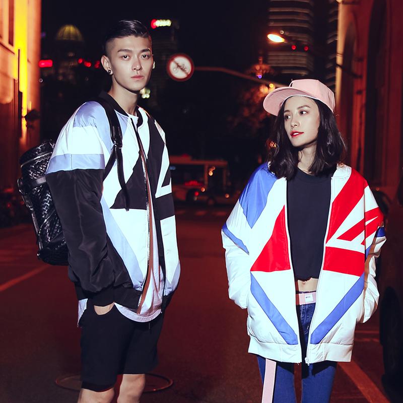 2015年冬季爆款新装韩版时尚潮流短款情侣棉衣男 女羽绒棉服外套
