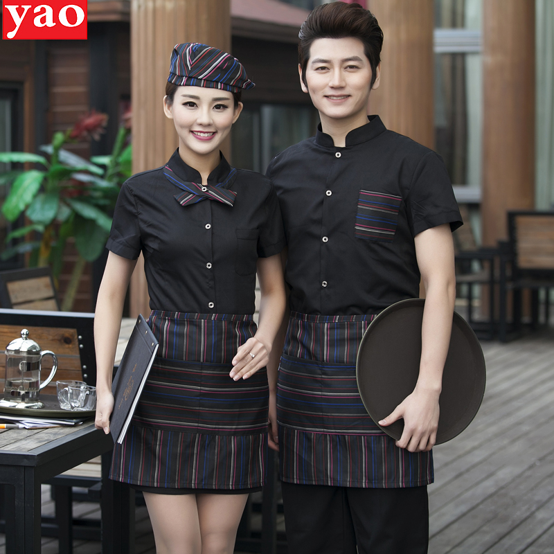 usd 15 58 hotel work clothes summer dress female western restaurant